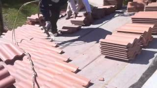 New Roofing Tile Installation