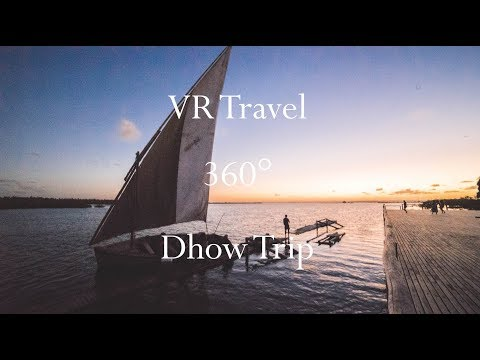 VR Travel - Dhow Trip in Mozambique