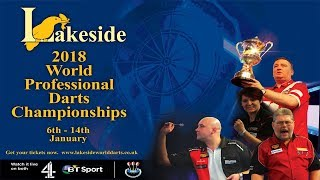 Lakeside 2018 World Professional Darts Championship Mens Final