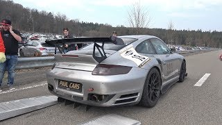 1800HP 9ff Porsche 911 997 Turbo - INSANE ACCELERATIONS!