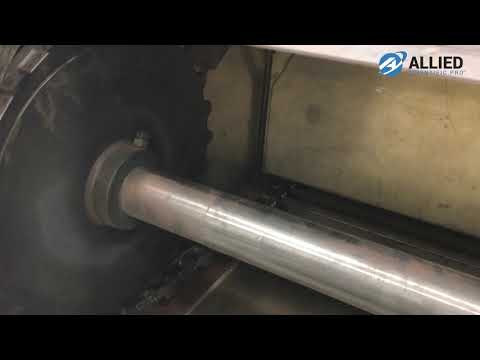 LaserBlast Cleaning System - Cleaning Conveyor Belt