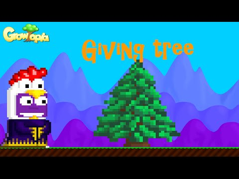 Growtopia How To Get Giving Tree Youtube