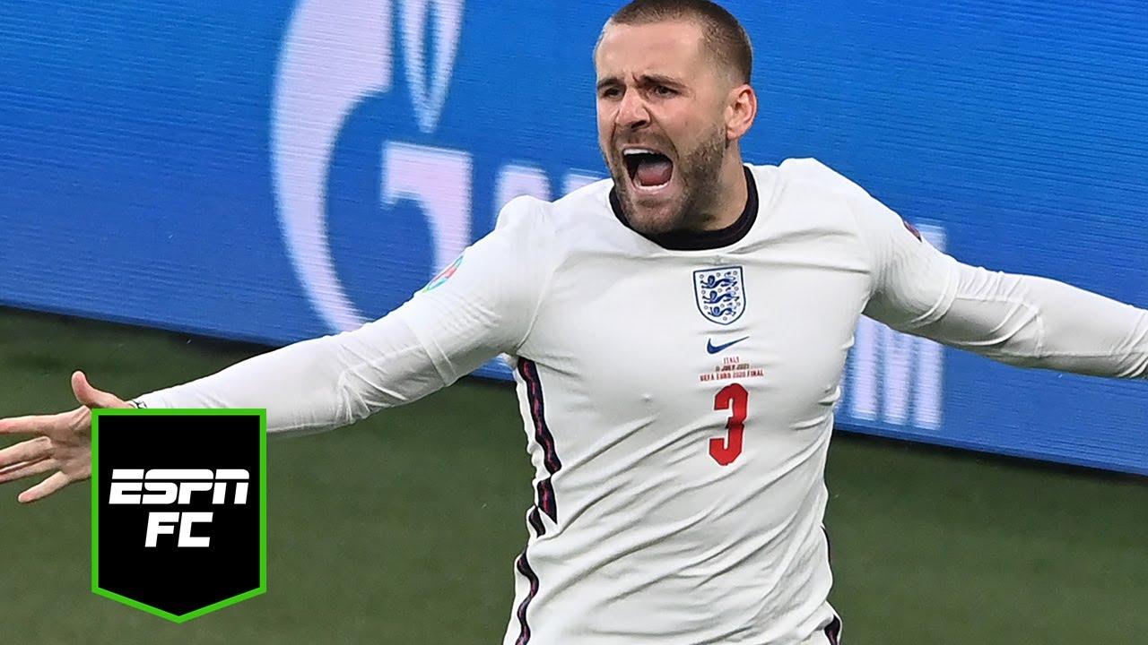 Download Luke Shaw scores FASTEST EVER Euro final goal   #Shorts   ESPN FC