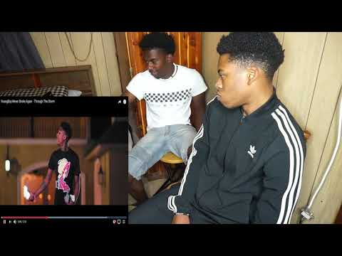 YoungBoy Never Broke Again - Through The Storm REACTION!!!