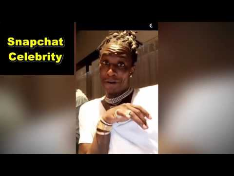 Snaps Young Thug's HUGE CLOSET! (Snapchat Compilation) Snapchat Celebrity