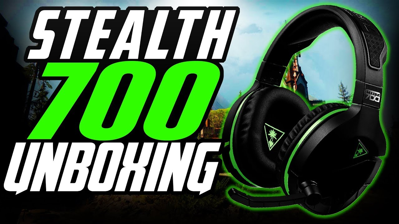 8cd0453d8e9 Turtle Beach STEALTH 700 UNBOXING for XBOX ONE Wireless Premium Surround  Sound Gaming Headset
