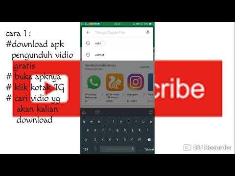 Cara Download Vidio Instagram Dengan Cepat