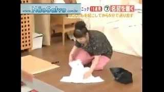 See how Japanese mother preparing her son for school !