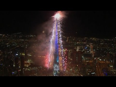 Watch Dubai New Year 2019 fireworks in full