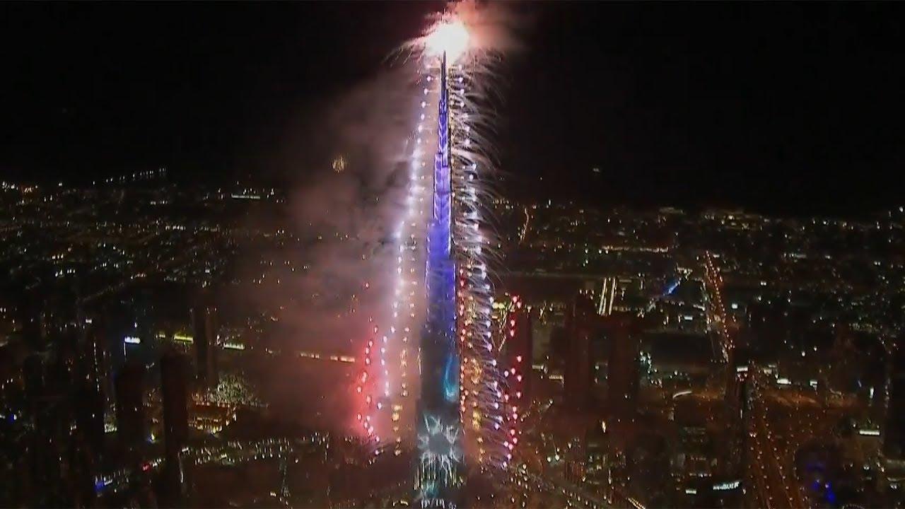 Watch Dubai New Year 2019 fireworks in full