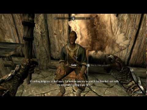 Skyrim : How To Solve the Puzzle In Ansilvund Excavation - Walkthrough (Helping Onmund and Enthir)