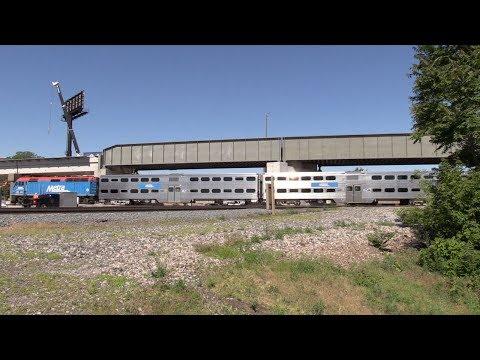 Chicago Metra Amtrak Englewood Flyover June 2014