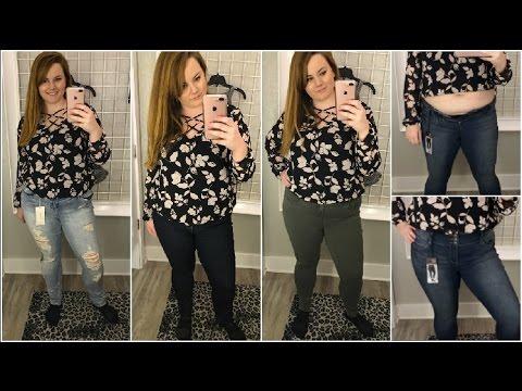 Plus Size Jeans Try On Torrid Inside The Dressing Room Apple