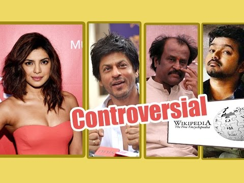 Rajini , Vijay & Top 100 Controversial Celebrities - Poll On Wikipedia | Bollywood - entertamil.com