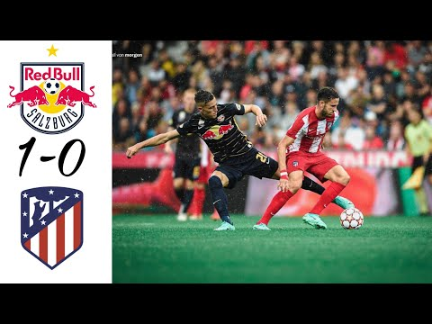Download Atlético Madrid vs Red Bull Salzburg | 0-1 | Extended Highlights | 28.07.2021