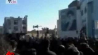 Iran Cleric's Funeral Becomes Opposition Protest