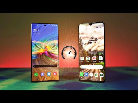 Samsung Galaxy Note 10 Plus vs Huawei P30 Pro Speed Test