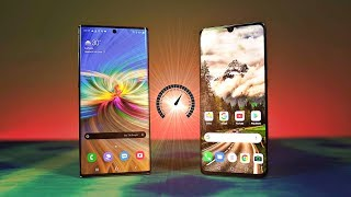 Samsung Galaxy Note 10 Plus vs Huawei P30 Pro - Speed Test! (Still Going Strong)