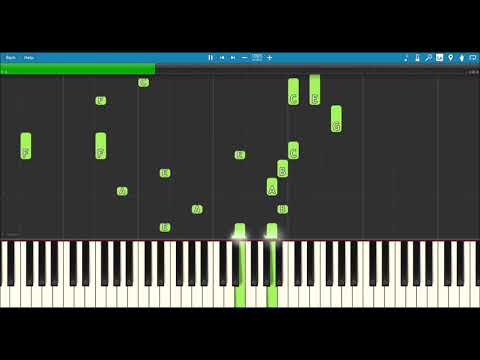 While You Were Sleeping OST 6 - Lucid Dream (Right Now) - Monogram - Piano Tutorial