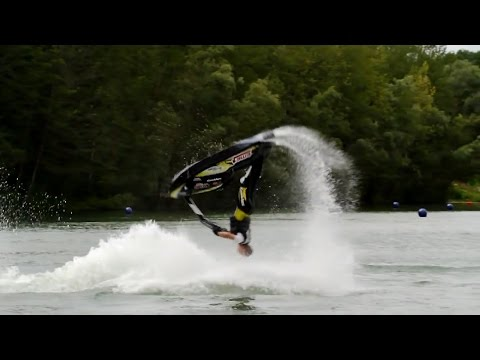 Jet Ski Freestyle Tricks How To Backflip on Jet Ski / PWC / Water Scooter