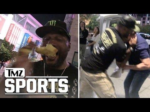 Quinton 'Rampage' Jackson Takes a Pounding Over Pound Cake!!!  TMZ Sports
