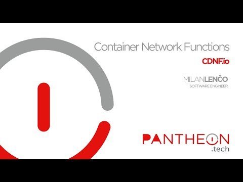Container Network Functions (Demo) | CDNF.io | by PANTHEON.tech