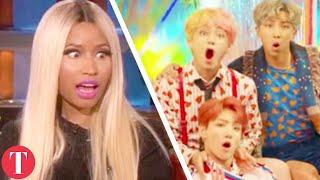 Gambar cover Nicki Minaj Collabs With BTS As Last Desperate Attempt To Boost Billboard Ratings