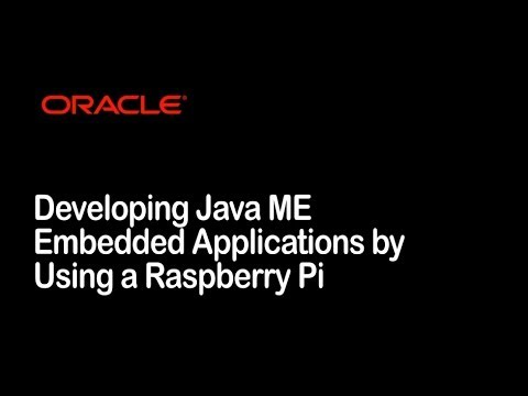 Oracle Java Embedded (Internet of Things) MOOC Overview