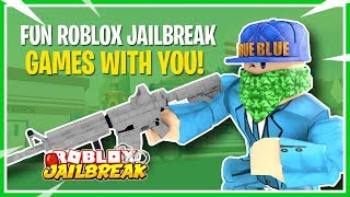 🔴JAILBREAK MINIGAMES WITH FANS! | NEW ROBLOX JAILBREAK FALL UPDATE | ROBLOX JAILBREAK LIVE! 🔥