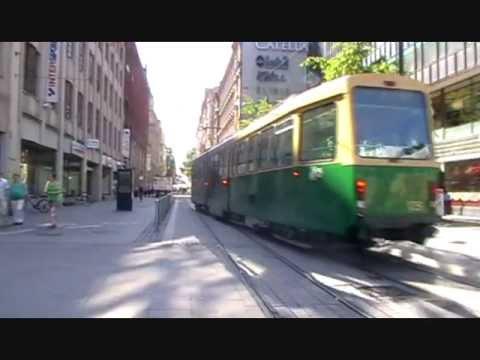 Gauntletted tram track