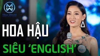Gambar cover Không chỉ đẹp, tài giỏi, Hoa Hậu Lương Thùy Linh nói tiếng Anh lại còn 'xịn xò' thế này đây