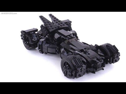 custom lego batman vs superman batmobile moc 2nd look youtube. Black Bedroom Furniture Sets. Home Design Ideas