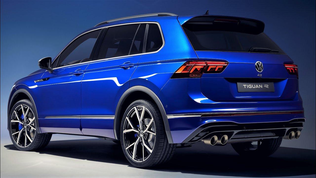 2021 Volkswagen Tiguan R - Performance Compact SUV - YouTube