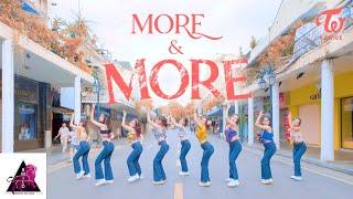 [KPOP IN PUBLIC] TWICE(트와이스) - MORE u0026 MORE |커버댄스 Dance Cover| By B-Wild From Vietnam [Phố đi bộ]