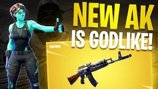The New Fortnite AK Should Be Illegal....