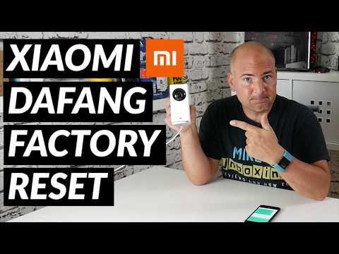Xiaomi Dafang Camera FULL Factory Reset - YouTube