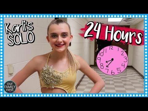 KARLI'S DANCE SOLO ~ 24 HOURS with a COMPETITIVE DANCER