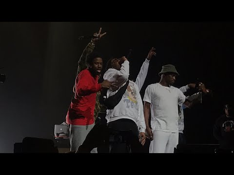 A$AP Mob performing Bahamas live during cozy tour in Portland Oregon!