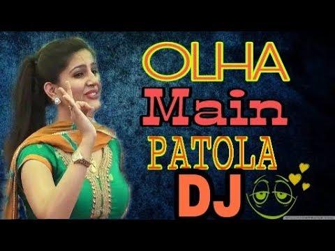 Olha Mein Patola || ओल्हा में पटोला || Sapna chaudhary || Haryanvi Dj Song||