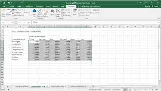 Microsoft Excel 2016 - Recording a Macro