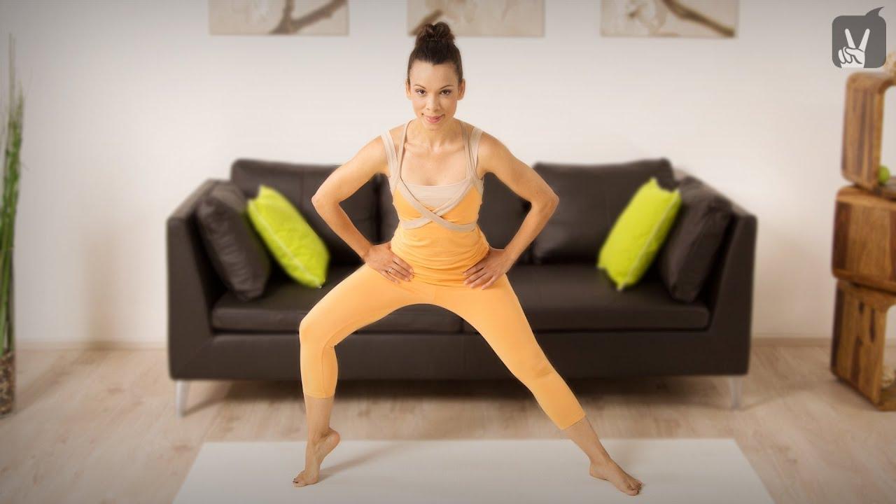 Lange schlanke beine trainieren