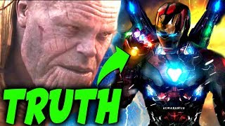 Confirmed: The Real Reason Tony Stark is The Only Avenger Thanos FEARS in EndGame!