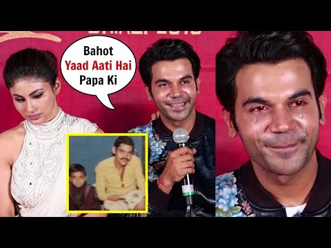 RajKummar Rao Gets Emotional and CRIES Talking About his Father at Made In China Trailer Launch Mp3