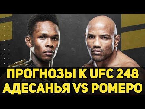 ТУРНИР АНДЕРДОГОВ?! Прогнозы к UFC 248 Исраэль Адесанья - Йоэль Ромеро