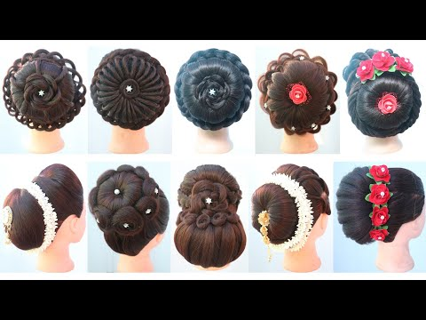 10-gorgeous-hairstyle-for-bridal-|-unique-hairstyle-|-easy-hairstyle-|-hair-style-girl-|-hairstyle
