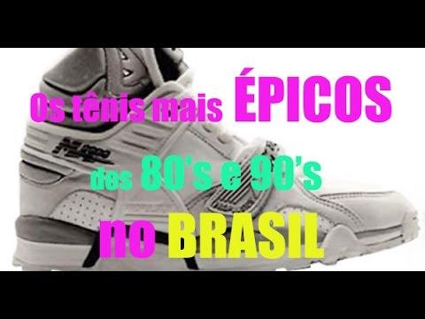 1ccf489a7d Os tênis mais ÉPICOS das décadas de 80 e 90 no Brasil! - YouTube