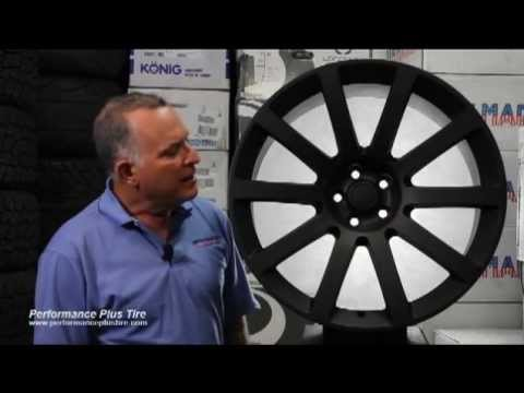 Factory Reproduction Wheels Chrysler 300 satin black -- Performance Plus Wheel & Tire Review