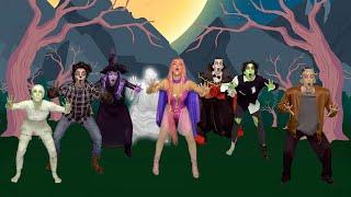 Luli Pampín - BIEN ES HALLOWEEN 🧟♀️🧛♂️⬅🤚💪 - Official Video
