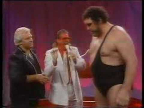 Brother Love  Andre The Giant & Ultimate Warrior