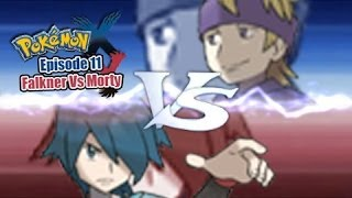 Pokemon X and Y WiFi Battle: Falkner Vs Morty [Gym Leader]